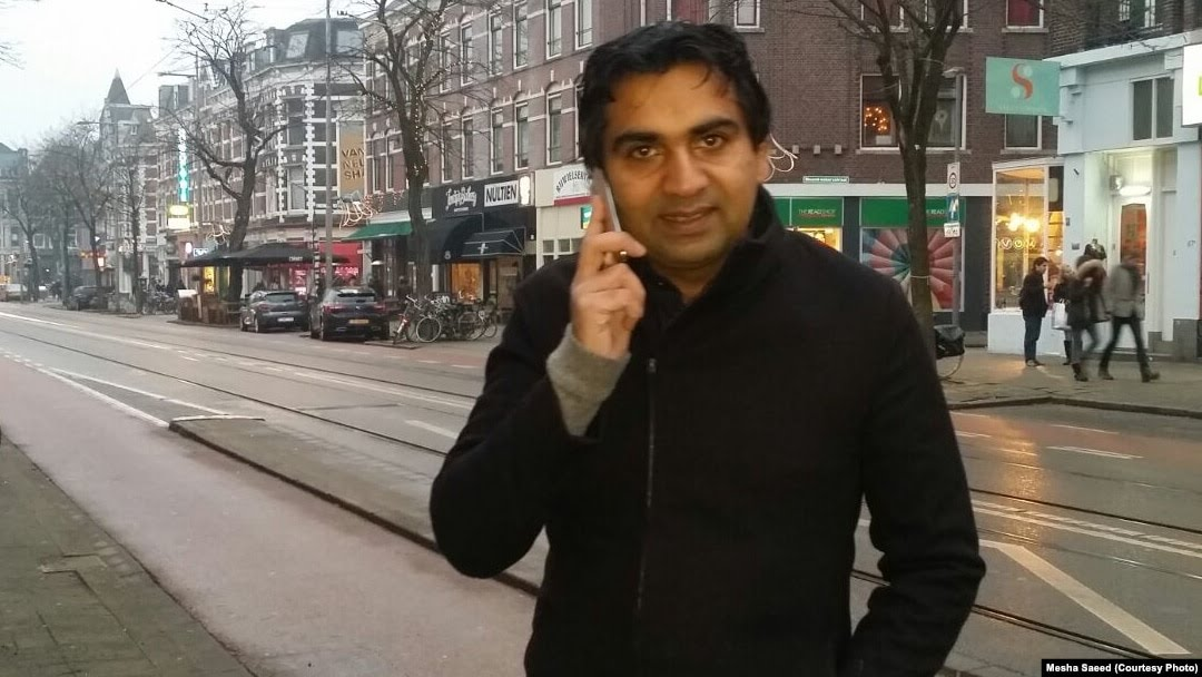 Pakistani blogger Ahmad Waqass Goraya says he was physically assaulted outside his home in the Dutch city of Rotterdam, where he lives with his family.